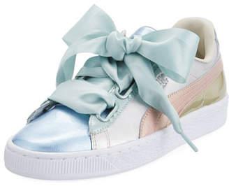 Puma Basket Heart Bauble Colorblock Sneaker