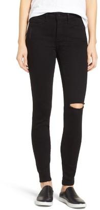 Women's Nydj Ami Slash Knee Stretch Skinny Jeans $134 thestylecure.com