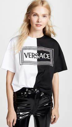 Versace Split Tee
