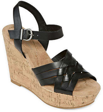 CL BY LAUNDRY CL by Laundry Womens Cienne Wedge Sandals