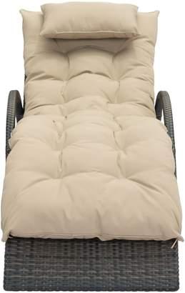 ZUO Modern Eggertz Beach Chaise Lounge Chair