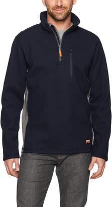 Timberland Men's Studwall 1/4 Zip Textured Fleece Top