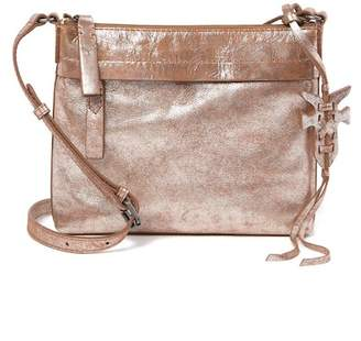 Frye Carson Metallic Leather Crossbody Bag