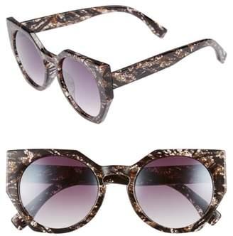 Leith 50mm Geometric Sunglasses
