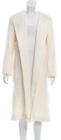 CelineCéline Open-Front Wool Coat w/ Tags