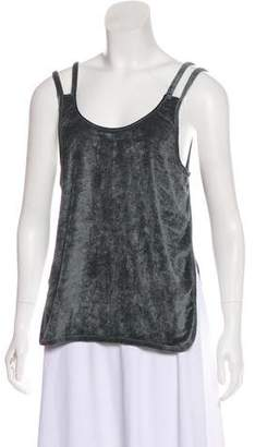 Lot 78 Lot78 Terry Cloth Sleeveless Top w/ Tags