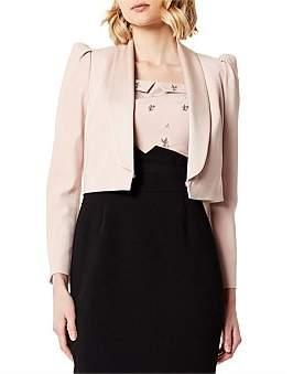 Karen Millen Shawl Collar Micro Jacket