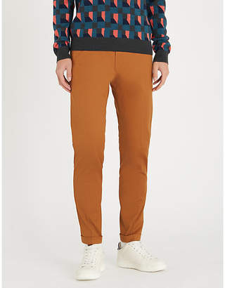 Paul Smith Slim-fit straight-leg stretch-twill chino trousers