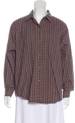 Patagonia Long Sleeve Button Up Top