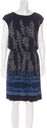 Philosophy di Alberta Ferretti Printed Knee-Length Dress
