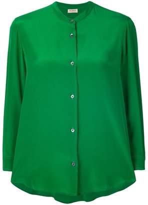 Blanca 3/4 sleeve button blouse