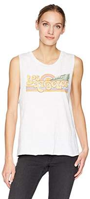 Lucky Brand Women's Los Angeles Graphic Tank Top