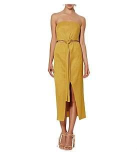 Bec & Bridge Marigold Strapless Dress