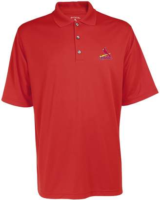 Antigua Men's St. Louis Cardinals Exceed Performance Polo