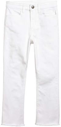 H&M Kick-flare Pants - White