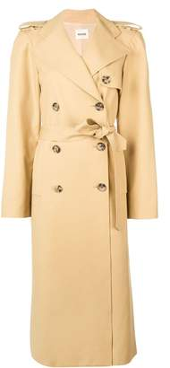 KHAITE long trench coat