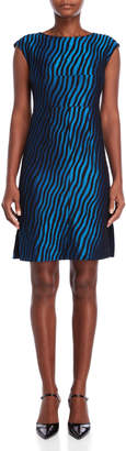 Marni Textured Stripe A-Line Dress