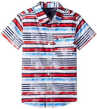 Tommy Hilfiger Short Sleeve Printed Shirt Boy's Clothing