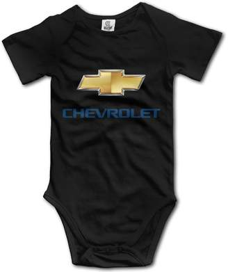maifeng Newborn Chevrolet Cute Jumpsuit Bodysuits