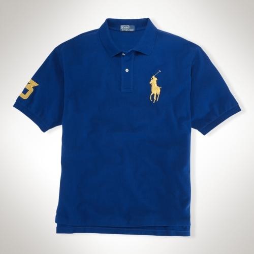 Polo Ralph Lauren Big & Tall Classic-Fit Gold Big Pony