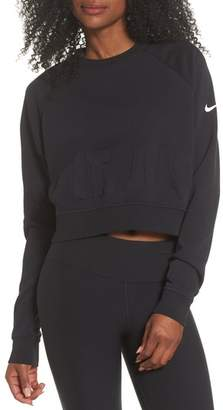 Nike Long Sleeve Crop Training Top