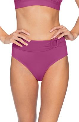 Robin Piccone Kate High Waist Bikini Bottoms