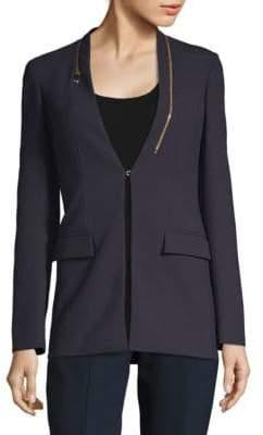Versace V-Neck Suit Jacket