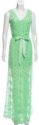 Miguelina Lace V-Neck Dress