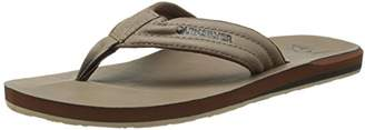 Quiksilver Men's Carver Nubuck 3 Point Sandal
