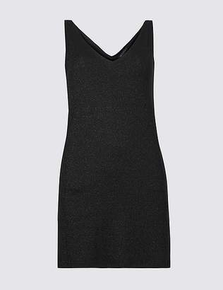 Marks and Spencer Sparkly V-Neck Sleeveless Tunic