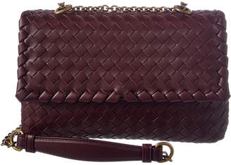 Bottega Veneta Intrecciato Nappa Leather Baby Olimpia Bag