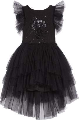 Nununu Sequin Embroidered Tulle Dress