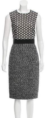 Giambattista Valli Lace Tweed Dress
