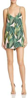Show Me Your MuMu Palm Print Rascal Romper - Bloomingdale's Exclusive $128 thestylecure.com