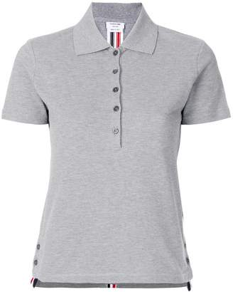 Thom Browne side slit polo shirt