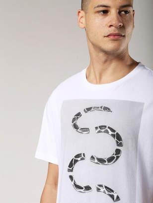 Diesel T-Shirts 0EADQ - White - 3XL