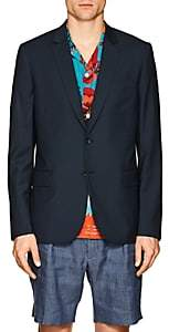 Paul Smith Men's Slim Wool Two-Button Sportcoat - Blue
