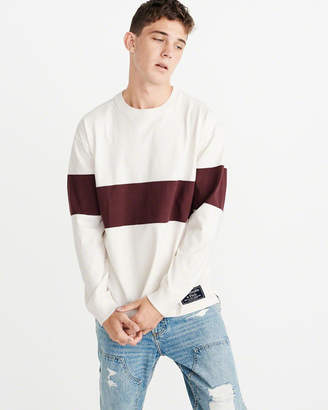 Abercrombie & Fitch Long-Sleeve Rugby Crew