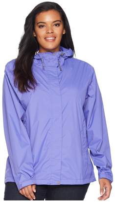 White Sierra Plus Size Trabagon Rain Shell Women's Coat