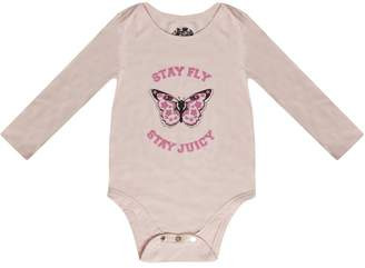 Juicy Couture Butterfly Garden 3-Piece Onesie Set for Baby