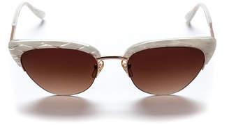 Cat Eye Sunday Somewhere Pixie Acetate & Metal Cat-Eye Sunglasses