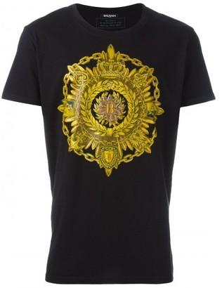 Balmain 'Blazon' T-shirt $360 thestylecure.com