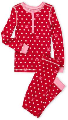 Betsey Johnson Girls 4-6x/Girls 7-16) Two-Piece Printed Pajama Set