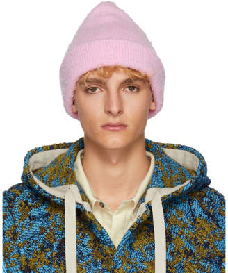 Acne Studios Pink Pilled Beanie