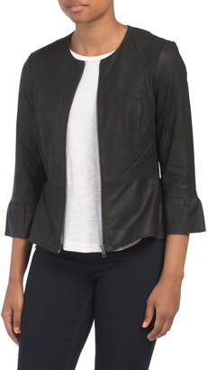 f783f3385 Young Black Leather Jacket - ShopStyle