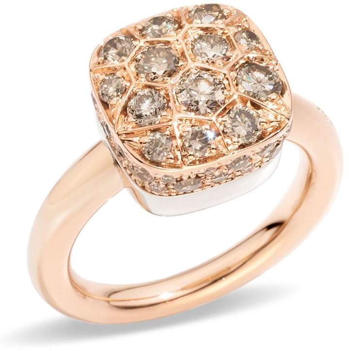 Nudo Maxi Brown Diamond Solitaire Ring