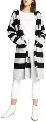 Sanctuary Rugby Long Hooded Cardigan