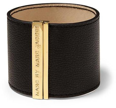 Marc by Marc Jacobs Letter Press Leather Cuff