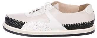 Bottega Veneta Leather Low-Top Sneakers