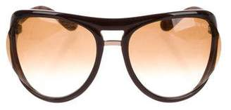 Tom Ford Milo Gradient Sunglasses
